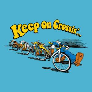 Keep on Crossin (Aqua)