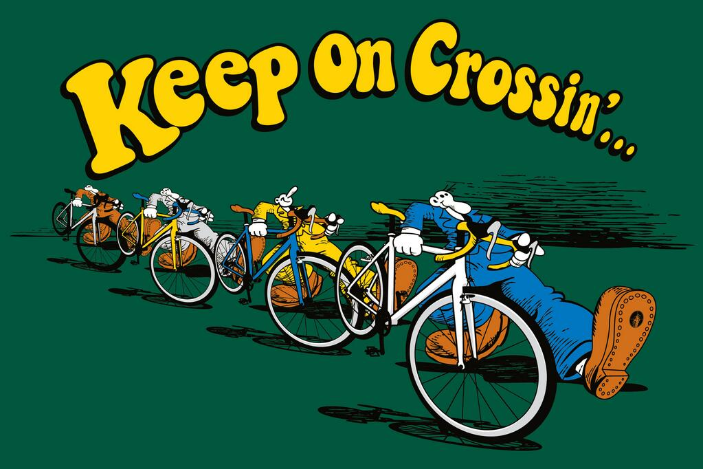 keep on crossin